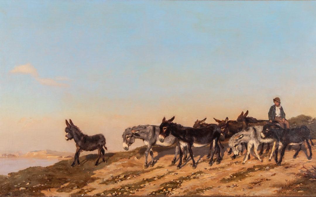 Exposition virtuelle – Eugène Burnand. A travers champs