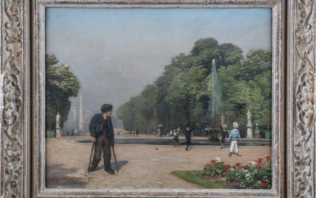 Le Jardin des Tuileries – 1875